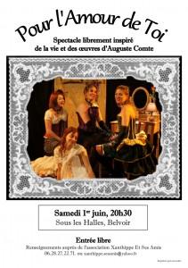 Affiche Belvoir 211x300 Pour lAmour de Toi le 1er juin à Belvoir
